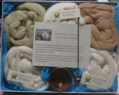 Handspinner's Cotton Sampler Box - Wholesale for Cotton Retailers