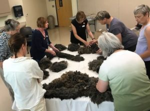 Learning the different parts of a fleece