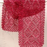 Rose Medallion Scarf